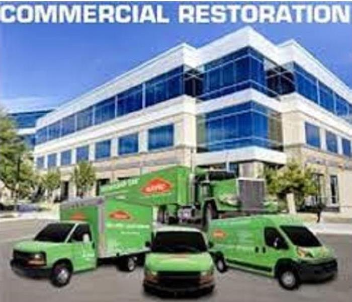 Commercial SERVPRO Commercial Services